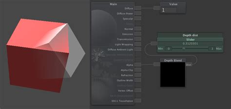 tutorial unity shader depth blend node neat corp forums