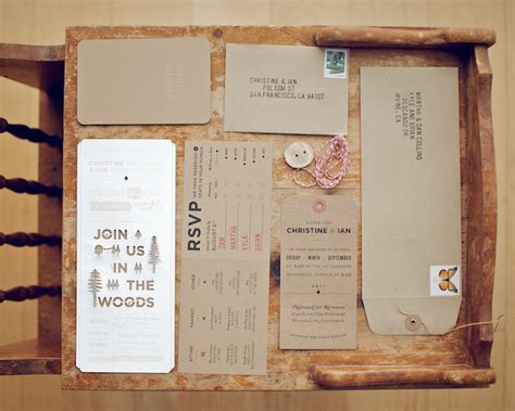 woodsy themed wedding invitations woodsy rustic style wedding invitation rustic wedding chic