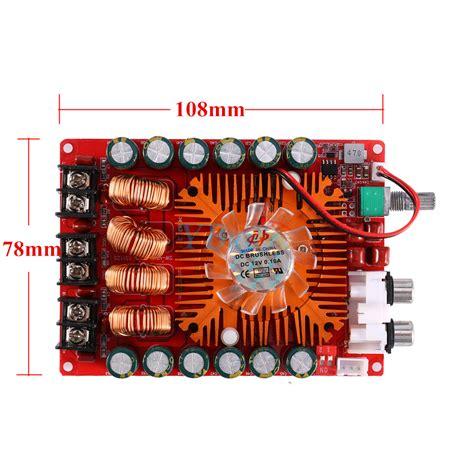 Tda7498e Digital Stereo Audio Lifier 2 X 160w Or 1 X 220w Module tda7498e 160w 160w audio power stereo lifier board