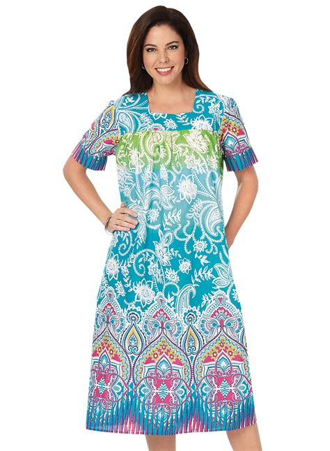 Batik Dress flattering batik dress carolwrightgifts