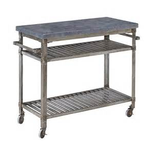 Patio Serving Cart by Shop Home Styles Urban Style Aged Metal Outdoor Serving