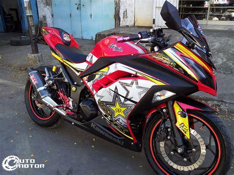 Modified Kawasaki 250r by Modified 205r 2013 Rockstar Motomalaya
