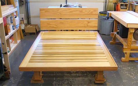 contentment  design woodworking projects bed platform