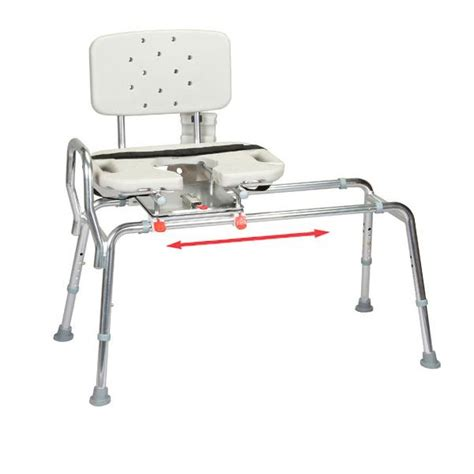 toilet to tub sliding transfer bench maxiaids eagle health extra long toilet to tub sliding