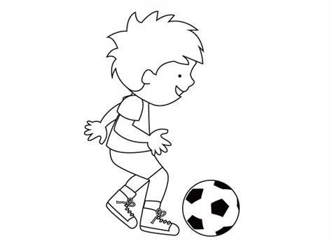 dibujos niños jugando futbol dibujos para colorear de ni 241 os jugando futbol imagui