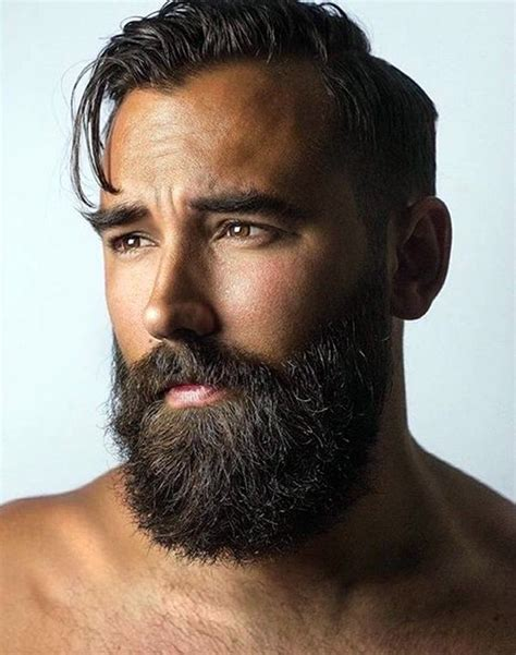 best hair styles to compliment a beard the 25 best ideas about beard styles on pinterest