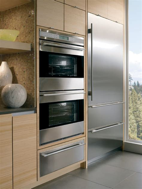 double oven tv sub zero wine cabinet microwave warming wolf 30 quot double electric wall oven classic stainless