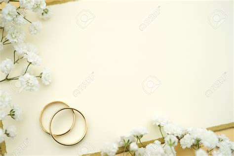 blank wedding invitation stock photo cream ivory wedding
