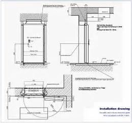 fire rated doors with glass windows door details dwg submited images