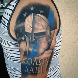 tactical tattoos 30 molon labe designs for tactical ink ideas