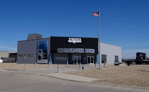 Hutchins Kansas Strataca Underground Salt Museum Hutchinson Kansas