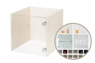 Glass cabinet insert for ikea kallax shelf by