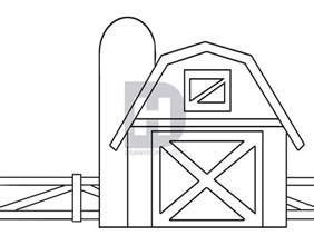 Barn Template by How To Draw A Barn By Darkonator Drawinghub