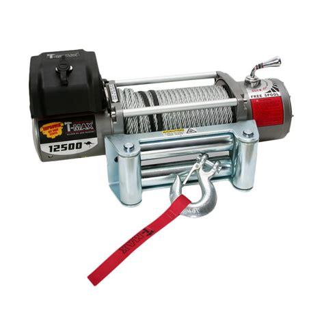 Tmax Winch Atw4500 Winch Electric 15 M jual t max ew 12500 electric winch mesin derek 28 5 m harga kualitas terjamin