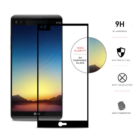 Cover Glass Mobil Mobil zizo premium hd tempered glass screen protector cover black for mobile phones ebay