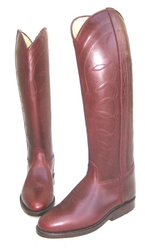 argentine polo boots with zips satsfaction