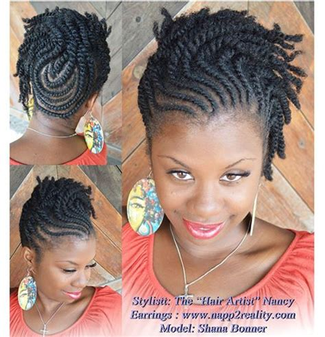 black plats on hair hairstyles inspiration flat twists modeles idee coiffure cheveux