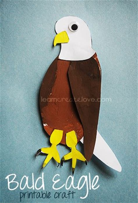 Bald Eagle Papercraft - 25 best ideas about eagle craft on plastic