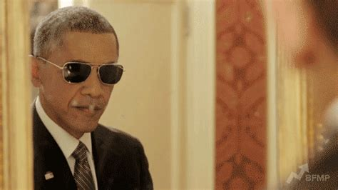 Obama Sunglasses Meme - president obama gifs find share on giphy