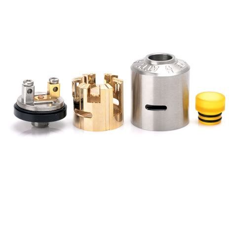 Rda Atomizer 22mm arc atty style rda 22mm silver rebuildable atomizer