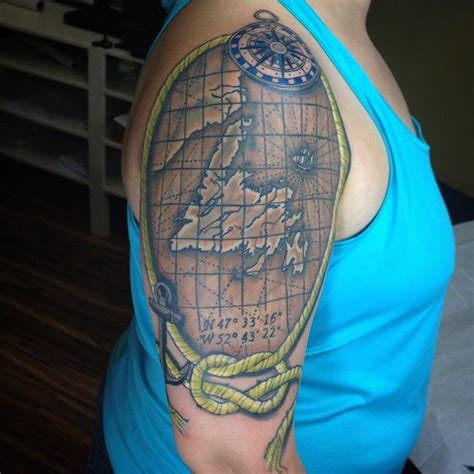 newfoundland tattoo back home in newfoundland