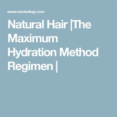 hydration for 4c hair maximum hydration method for 4c hair hairstylegalleries