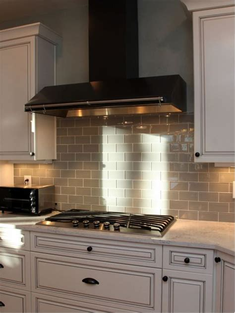 houzz kitchen tile backsplash best grey glass tile backsplash design ideas remodel