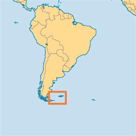 falkland islands on map map of falkland islands falkland islands islas malvinas