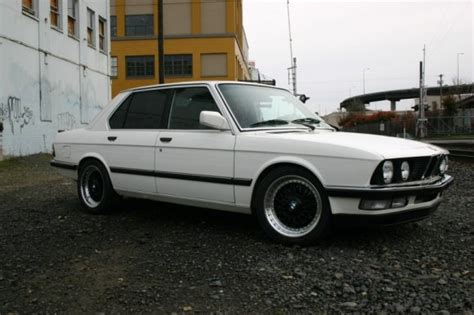 bmw 533i specs sweet conversion 3 5l 1983 bmw 533i bring a trailer