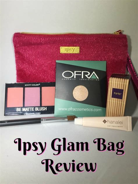 ipsy december glam bag review shopping