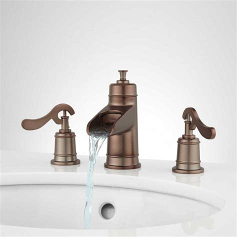 melton widespread waterfall bathroom faucet widespread
