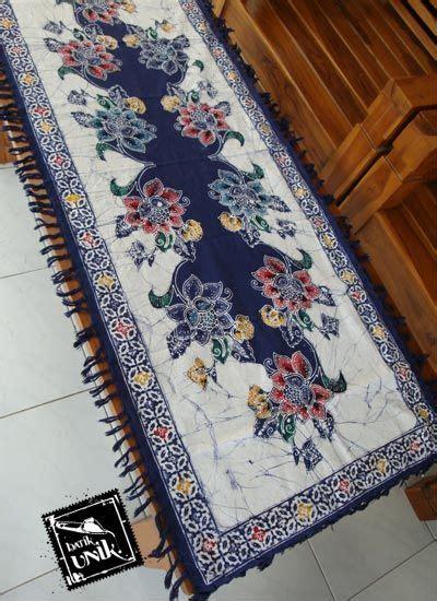 Batik Semi Motif Bunga taplak meja tamu batik cap semi tulis taplak meja batik
