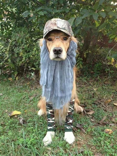 duck puppy duck dynasty costume stuff