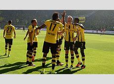 BORUSSIA DORTMUND PLAYERS GERMAN BUNDESLIGA 27082016 ... Goal.com Football Results