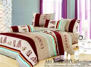 Gucci Bed Set Abi Ummi Collection Gucci Bedding Set