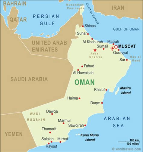 map of oman with cities oman country s history etched in the
