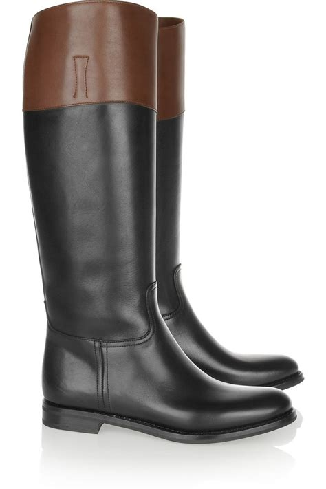 Church S Bottes Cavali 232 Res En Cuir Bicolore Martina