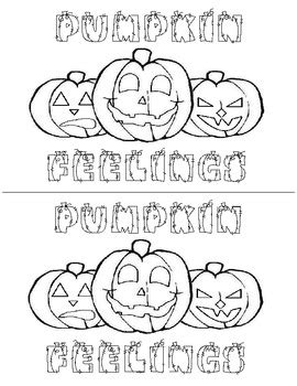 Pumpkin Feelings Book by The First Grade Diaries   TpT
