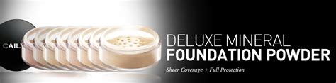 Cailyn Deluxe Mineral Foundation Powder 03 Beige deluxe mineral foundation powder