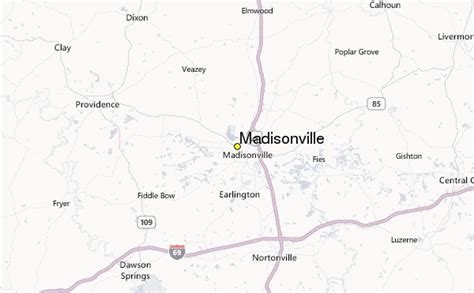 madisonville map madisonville weather station record historical weather