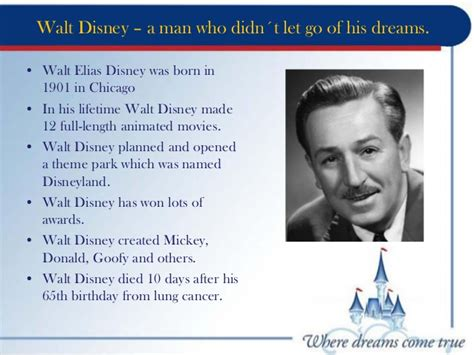 walt disney biography for students walt disney world