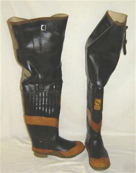 uniroyal rubber boots firefighter fireman hip siren