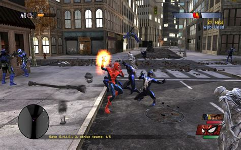 spider man web of shadows swinging لعبة spider man web of shadows اكوام