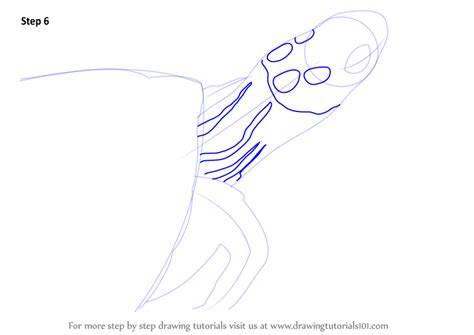 Drawing 6 6 Draw by Learn How To Draw A Four Eyed Turtle Reptiles Step By