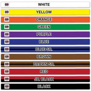 taekwondo belt colors traditional belt ranking system martial arts and