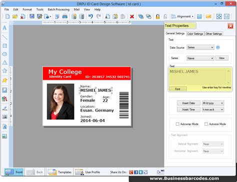 id card template for mac drpu id card design software 8 2 0 1 keygen keygen