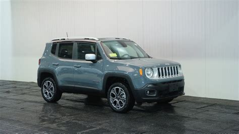 New Jeep For 2018 by New 2018 Jeep Renegade Limited Sport Utility In Braintree