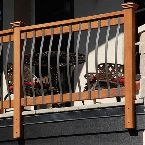 Iron Pickets For Decks Best 25 Deck Balusters Ideas On Deck Railings
