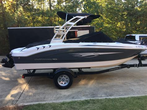 chaparral fish and ski boats chaparral h2o fish and ski 2015 for sale for 25 900