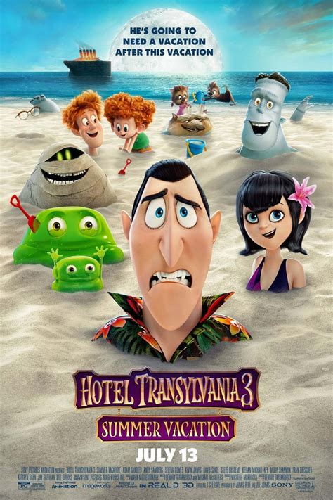 hotel transylvania  summer vacation dvd release date